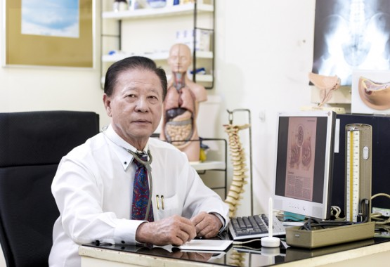 Mediglobal DR Siow in hospital