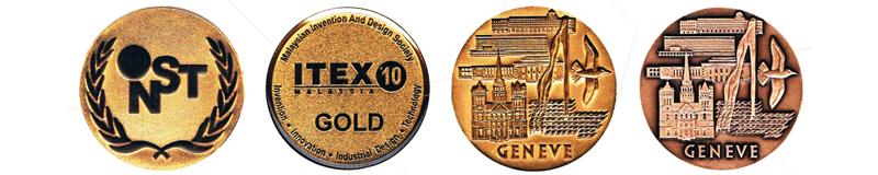 Mediglobal medal