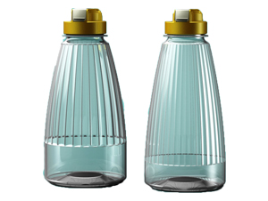 mediglobal luxury pet bottle